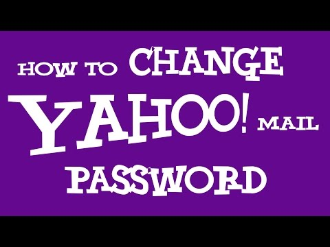 How To Change Yahoo Password | Change Yahoo Mail Password 2018 - NEW!!!