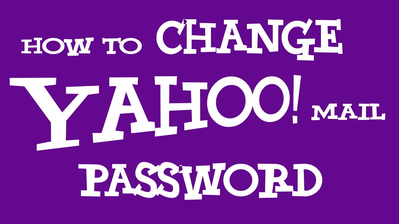 Full Yahoo Change Mail Password Site