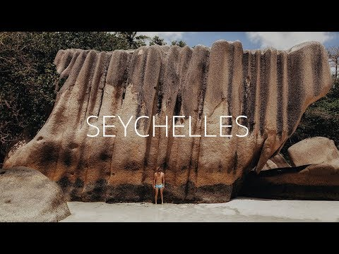 SEYCHELLES TRAVEL  LA DIGUE  GO PRO