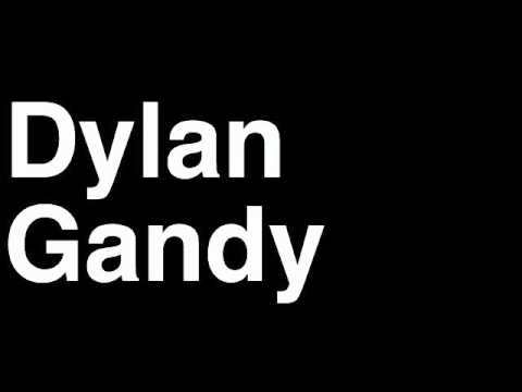 How to Pronounce Dylan Gandy Detroit Lions NFL Football Touchdown TD Tackle Hit Yard Run