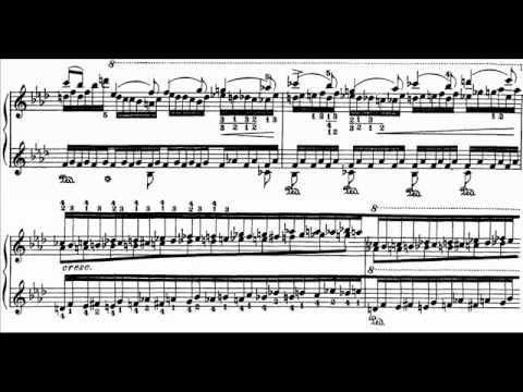 Liszt - Au bord d'une source (André Laplante) Audio + Sheet music