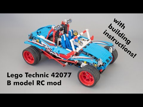 Lego Technic 42077 Buggy B Model Rc Mod With Building Instructions