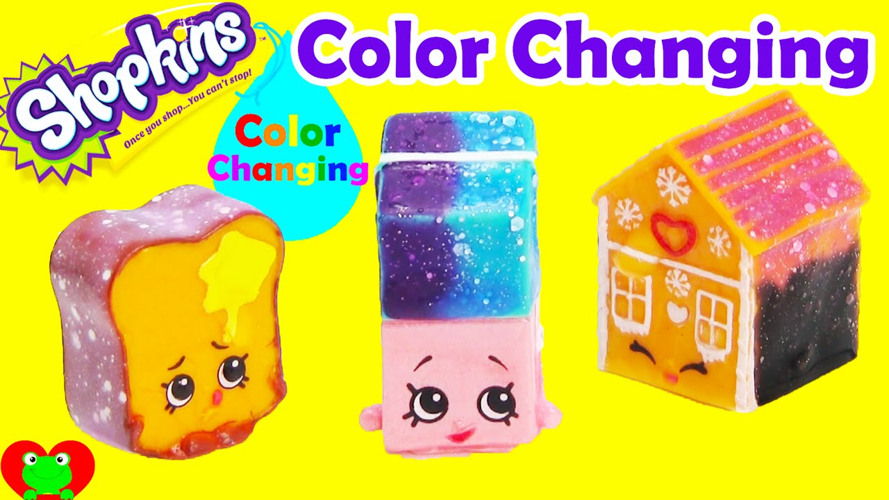 Shopkins coloring pages nail polish - Diy Color Changing Shopkins Polished Pearl Erica Eraser Ginger Fred And More