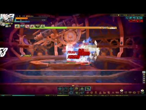 [ELSWORD_JP] Comet Crusader Guild Conquest Party Play stage