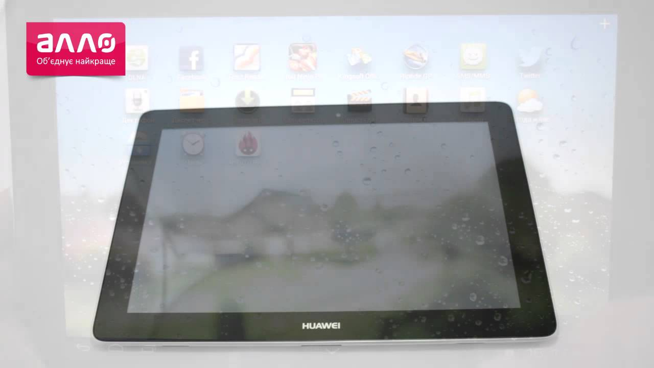 Планшет Huawei MediaPad 10 Link 8Gb 3G (обзор). - YouTube