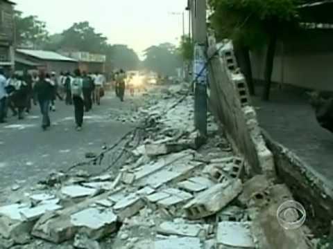 Rare Earthquake Hits Haiti