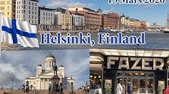 Helsinki, Finland 15 Mars 2020, during Coronavirus times.