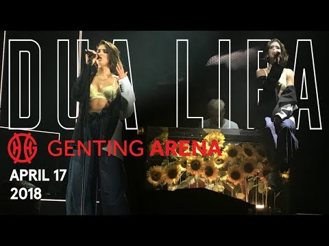 Dua Lipa | The Self-Titled Tour | Birmingham Genting Arena, April 17, 2018