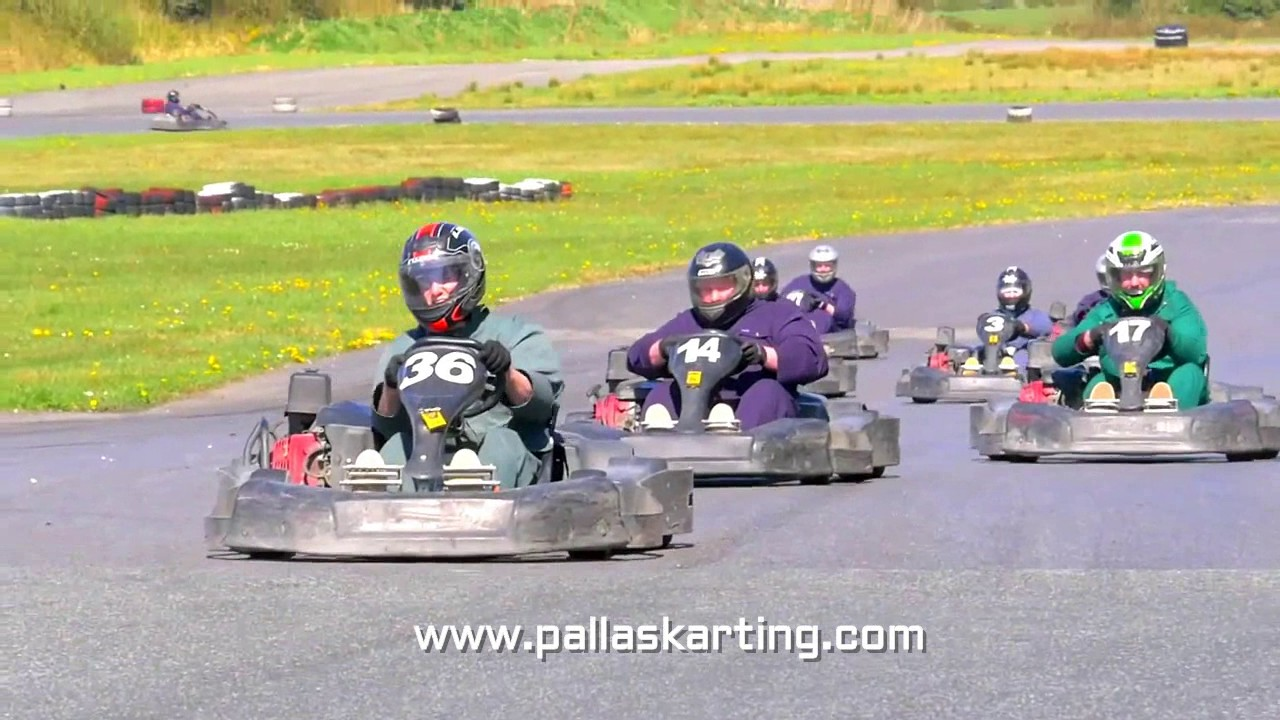 Pallas Karting Paintball Galway Ireland Youtube