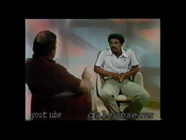 Daley Thompson 1978 Interview TV
