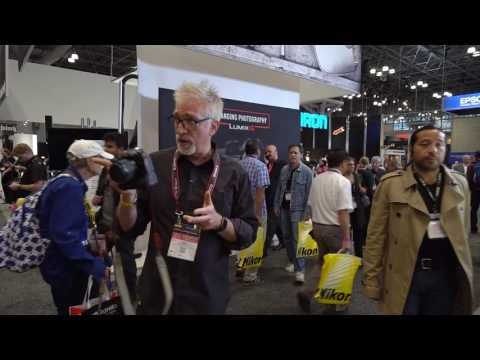 PhotoPlus Expo 2016, Part 1: First Touch with Cameras I Usually Don't Review