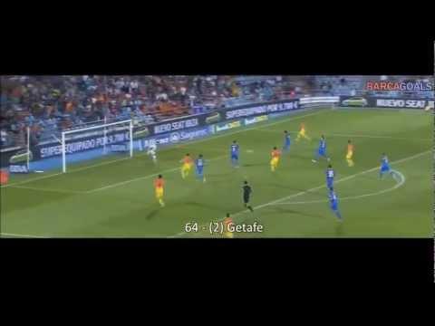 86 goles de Messi 2012