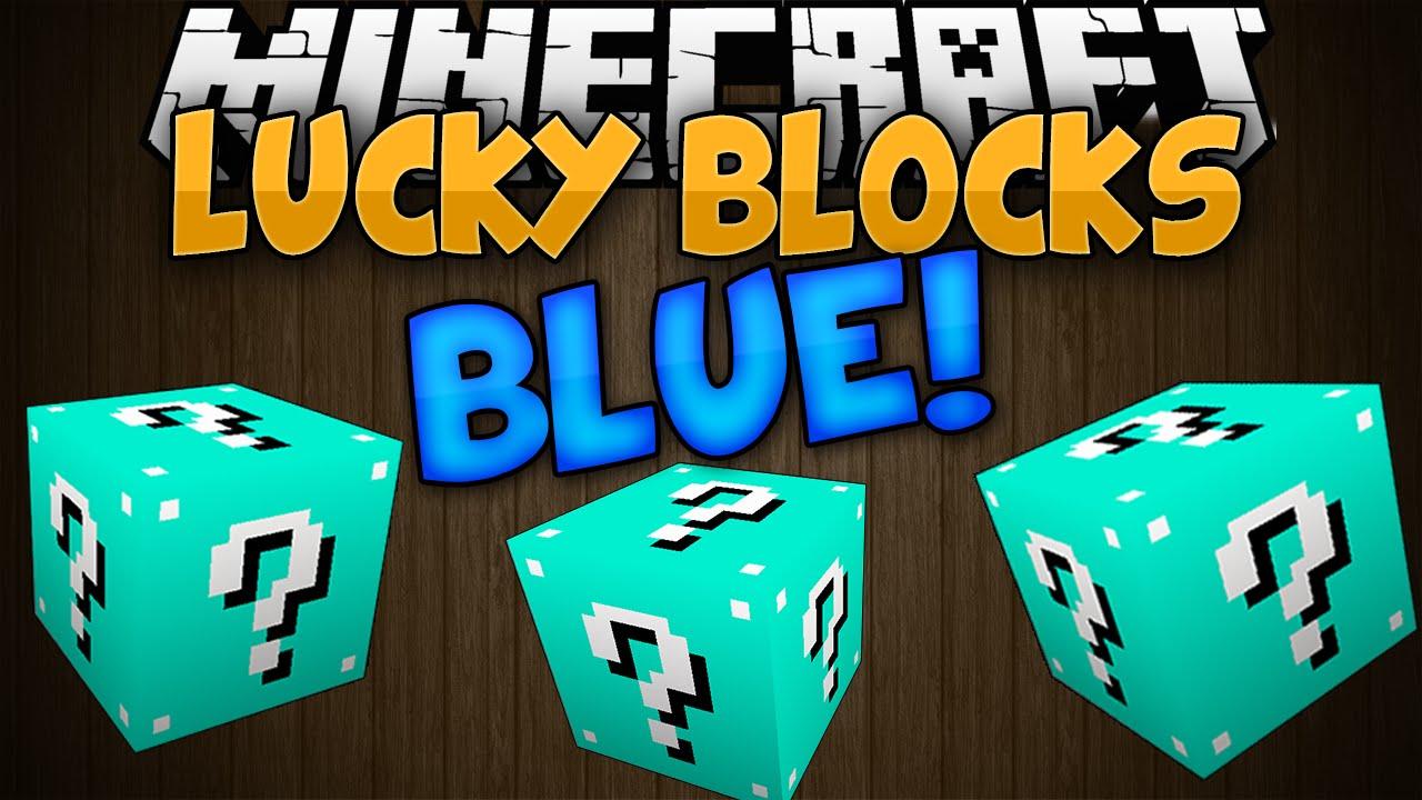 Lucky Block Blue Mod for Minecraft 1 8 | MinecraftSix