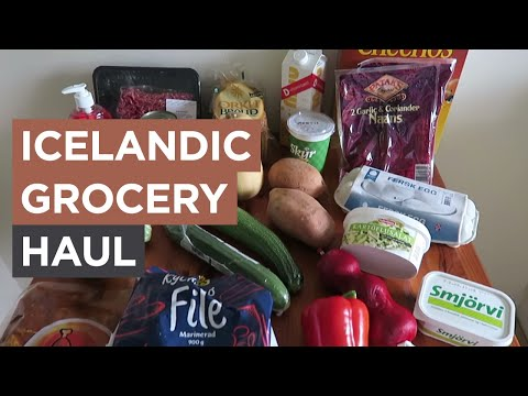 Living in Iceland - Icelandic Weekly Grocery Haul (week 29) | Sonia Nicolson