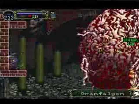 SotN - Luck Mode Boss Fight - Granfaloon