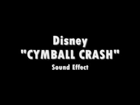 disney cymbal crash sound effect youtube. Black Bedroom Furniture Sets. Home Design Ideas