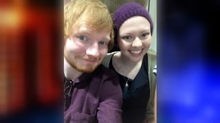 Ed Sheeran Visits Fan in Hospital After She Missed His Concert