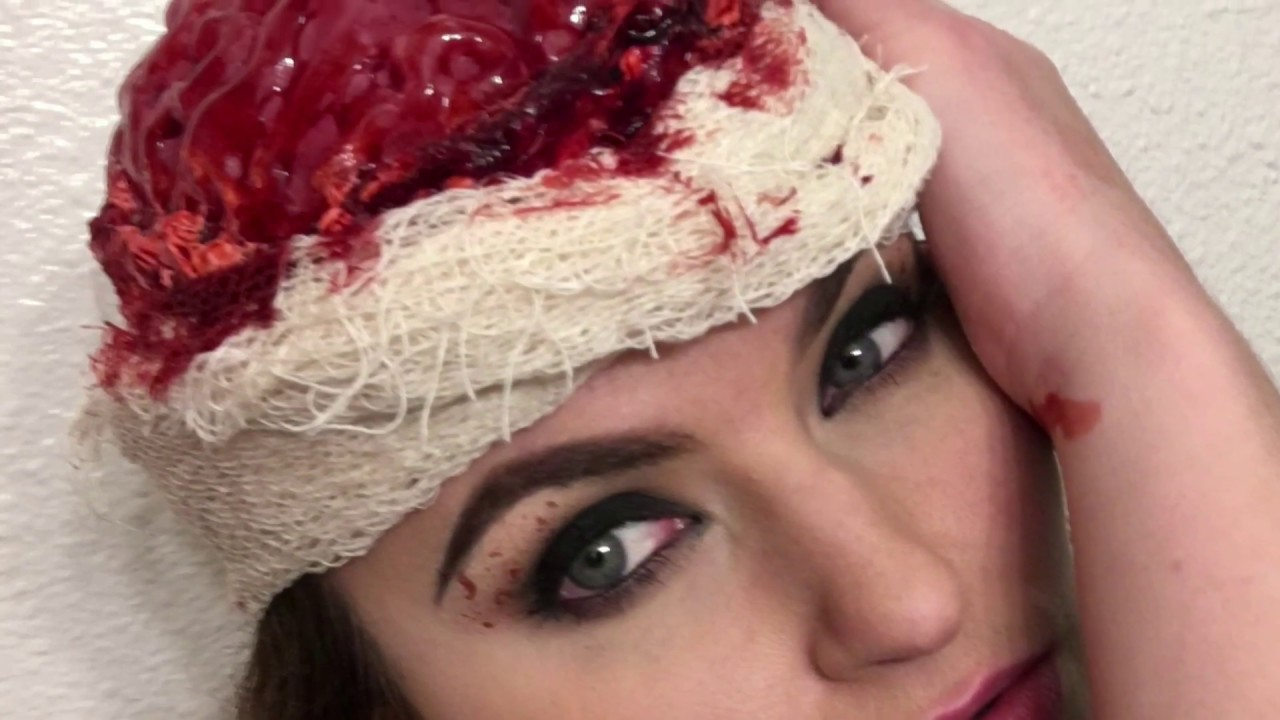 Liquid Latex Exposed Gelatin Brain - YouTube