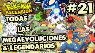 Pokémon Ascension #21 - Todas las Megaevoluciones/Megapiedras y Legendarios