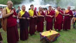 "Drikung Kagyu "" Universal Prayer Day(Dzam Ling Chi Sang)"" 2013.6.23/世界焚松煙供節"