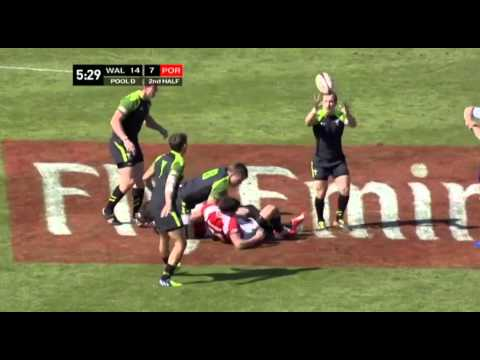 Emirates Airline Dubai Rugby Sevens - Portugal v Wales