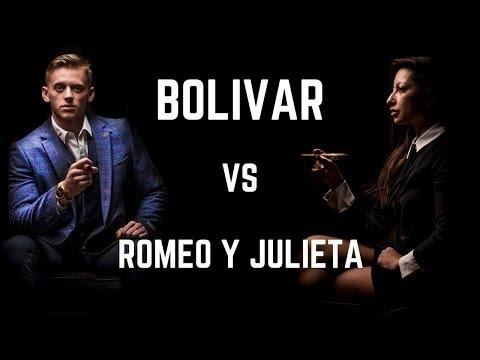 COUPLES CIGAR REVIEW - Bolivar Belgravia UK Regional edition VS Romeo Y Julieta Cedros De Luxe