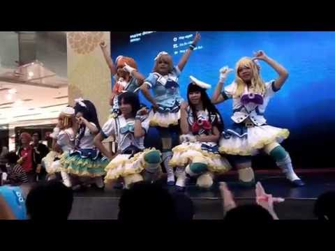[Marine Dream] Love Live Sunshine - Aqours Dance Cover [Live on Toys Fair Grand City 2016]