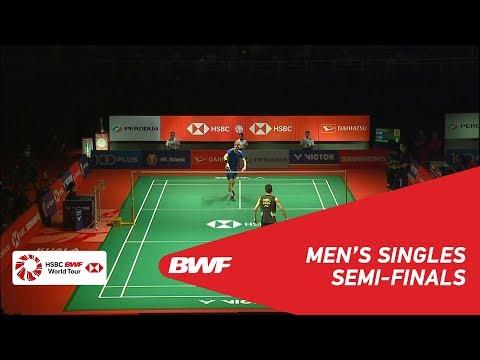 SF | MS | Viktor AXELSEN (DEN) [5] vs CHEN Long (CHN) [3] | BWF 2019