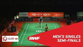 SF | MS | Viktor AXELSEN (DEN) [5] vs CHEN Long (CHN) [3] | BWF 2019