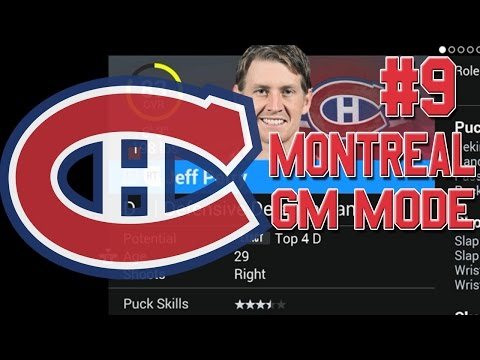 "NHL 16 ""GM Mode"" #9 l Trade Deadline l Montreal Canadiens"