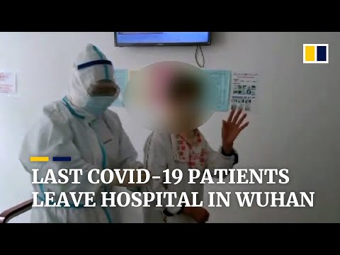 Wuhan declares 'victory' as central Chinese city's last Covid-19 patients leave hospital