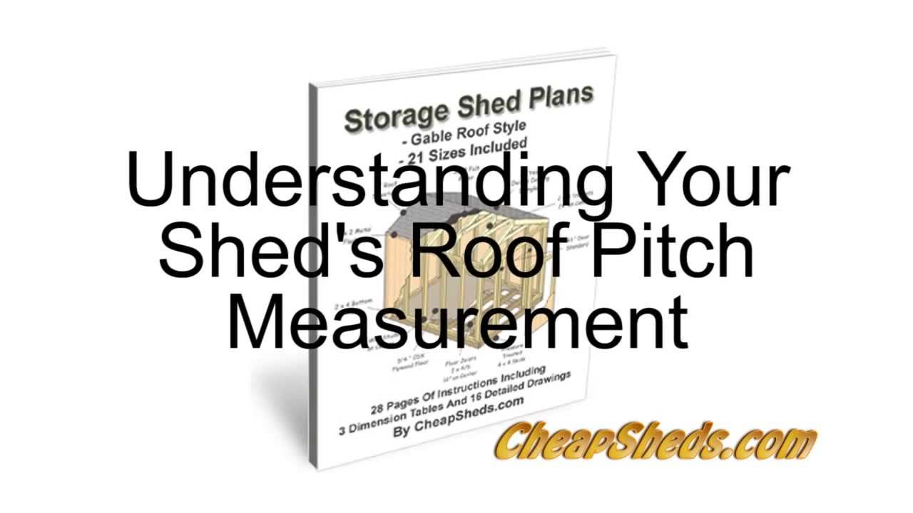 understanding your sheds roof pitch measurement - How To Measure Roof Pitch