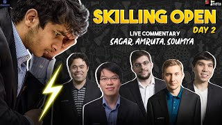 Skilling Open Day 2 | LIVE Commentary by Sagar, Amruta, Soumya | Champions Chess Tour