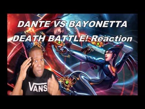 Dante VS Bayonetta   DEATH BATTLE! Reaction