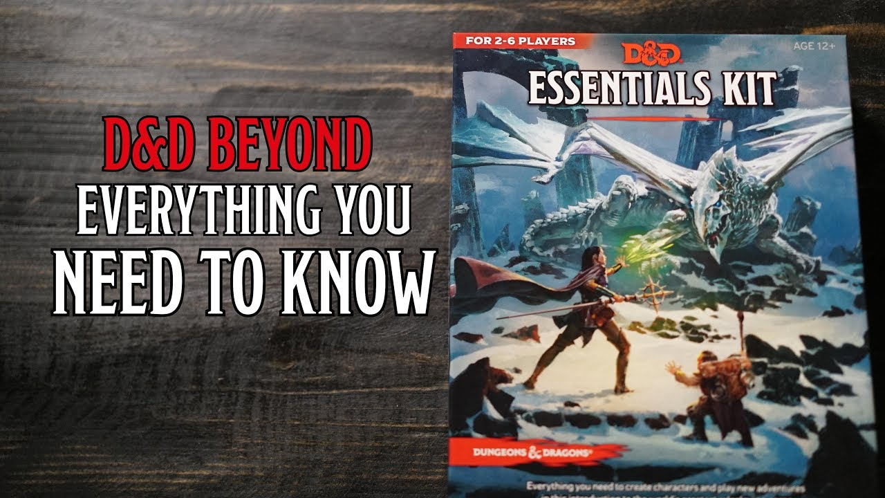 D&D's Essentials Kit: Everything You Need To Know