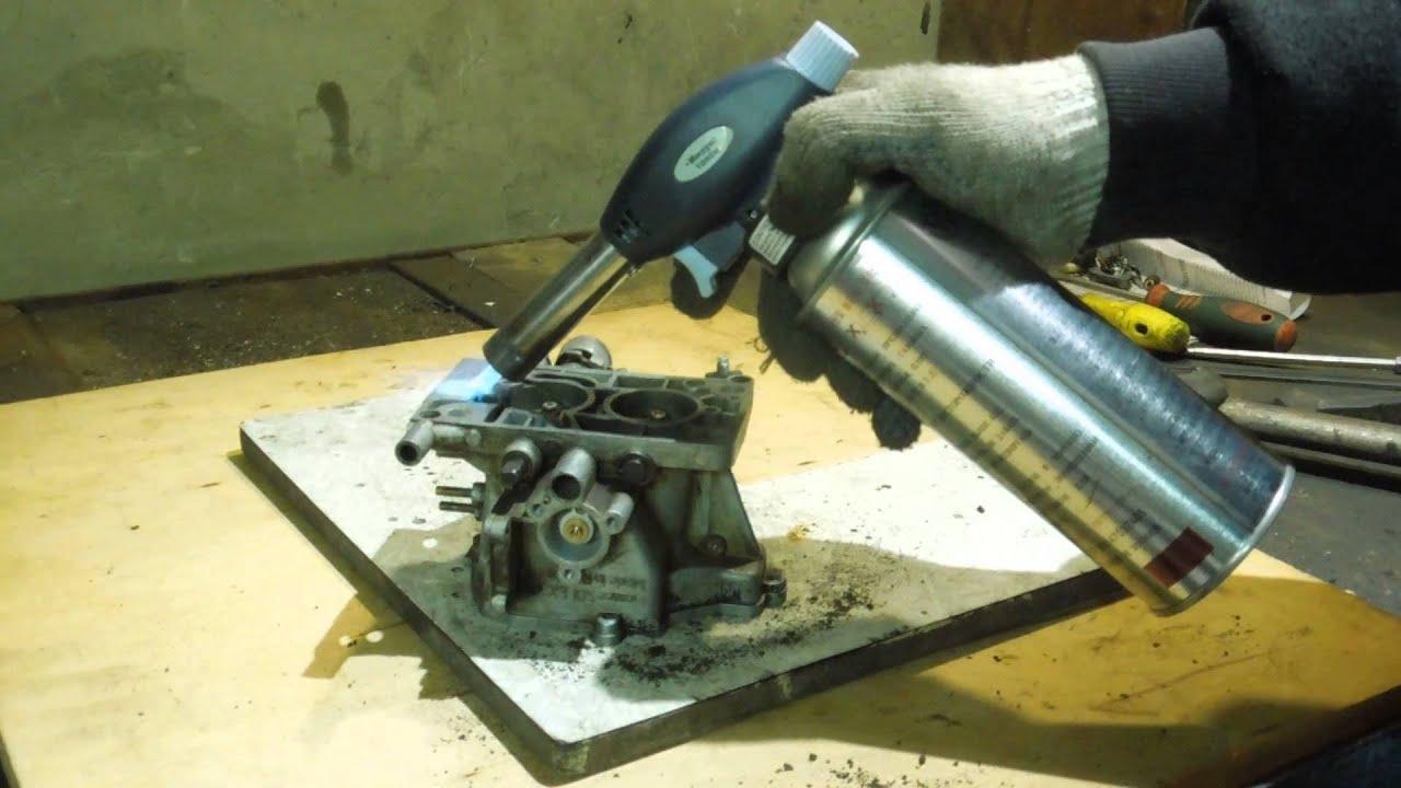 Правка фланца карбюратора простым и доступным способом.