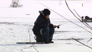 Зимняя рыбалка на Кучурганском лимане