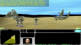 Star Wars: Force Commander (PC): Mission 1: Desert Training - Pt. 1