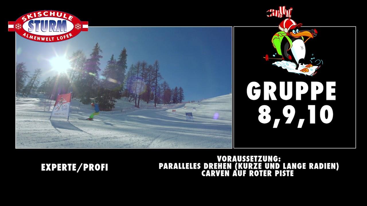 Privatskikurs der Skischule Lofer auf der Skialm Lofer