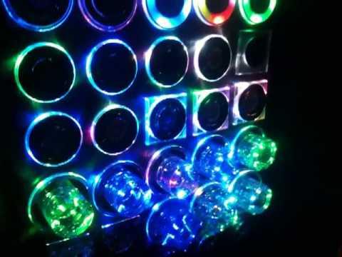 Подсветка светильников