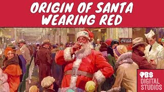 Why Does Santa Wear Red?