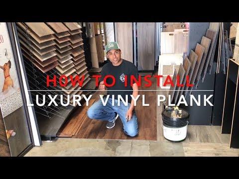 How To Install (LVP) Luxury Vinyl Plank Flooring [2018]