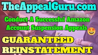 Conduct A Successful Amazon Account Suspension Appeals - Reinstate your account in 24h