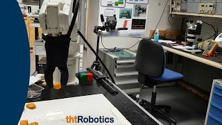 Adaptive Robotic Gripper. Grasping of chicken nuggets