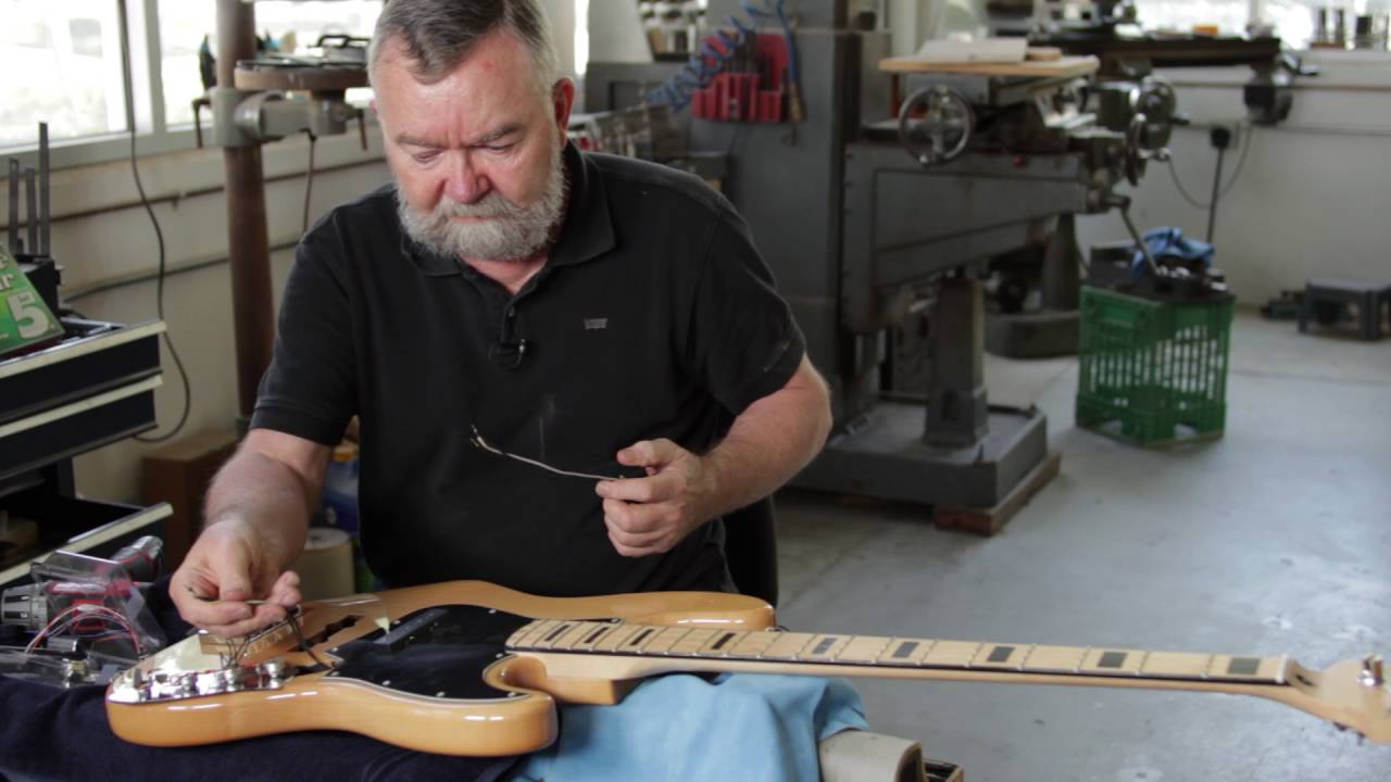 How To Upgrade The Pickups On Your Fender Bass Guitar Youtube Bronco Wiring Diagram