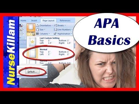 APA Style & Citation Formats