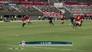 Pro Evolution Soccer 2017 epic goal Liverpool N.Clyne