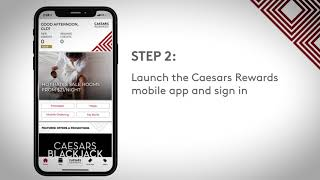 Caesars Rewards mobile app: How To Claim Your Mobile Free Slot Play
