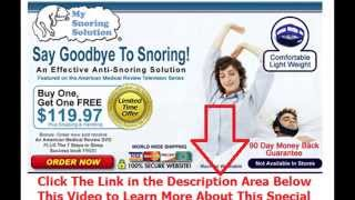 stop snoring operation | Say Goodbye To Snoring