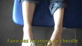 éducation thérapeutique après chirurgie de l'avant pied